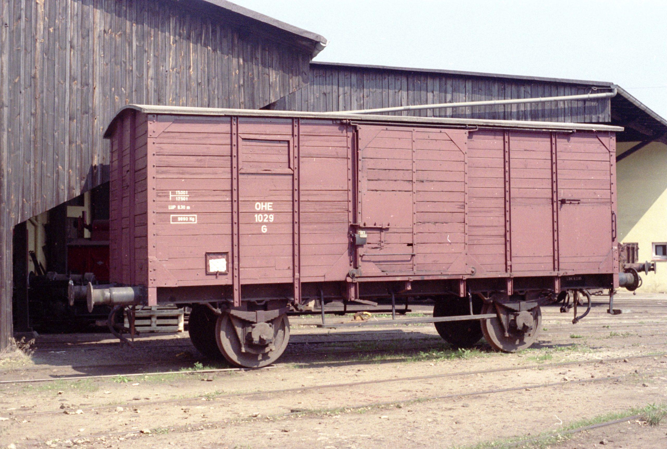 Güterwagen 1029