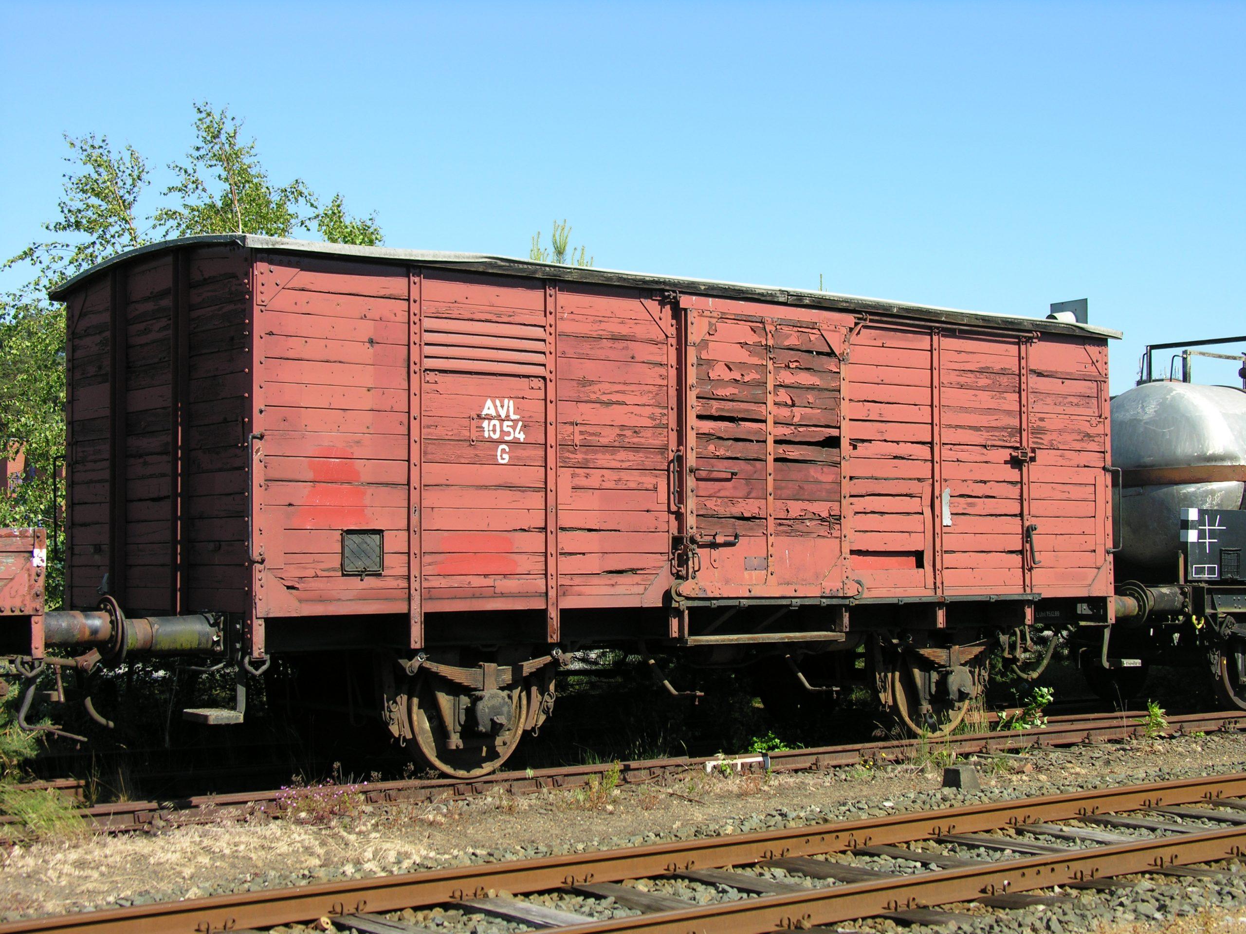 Güterwagen 1054