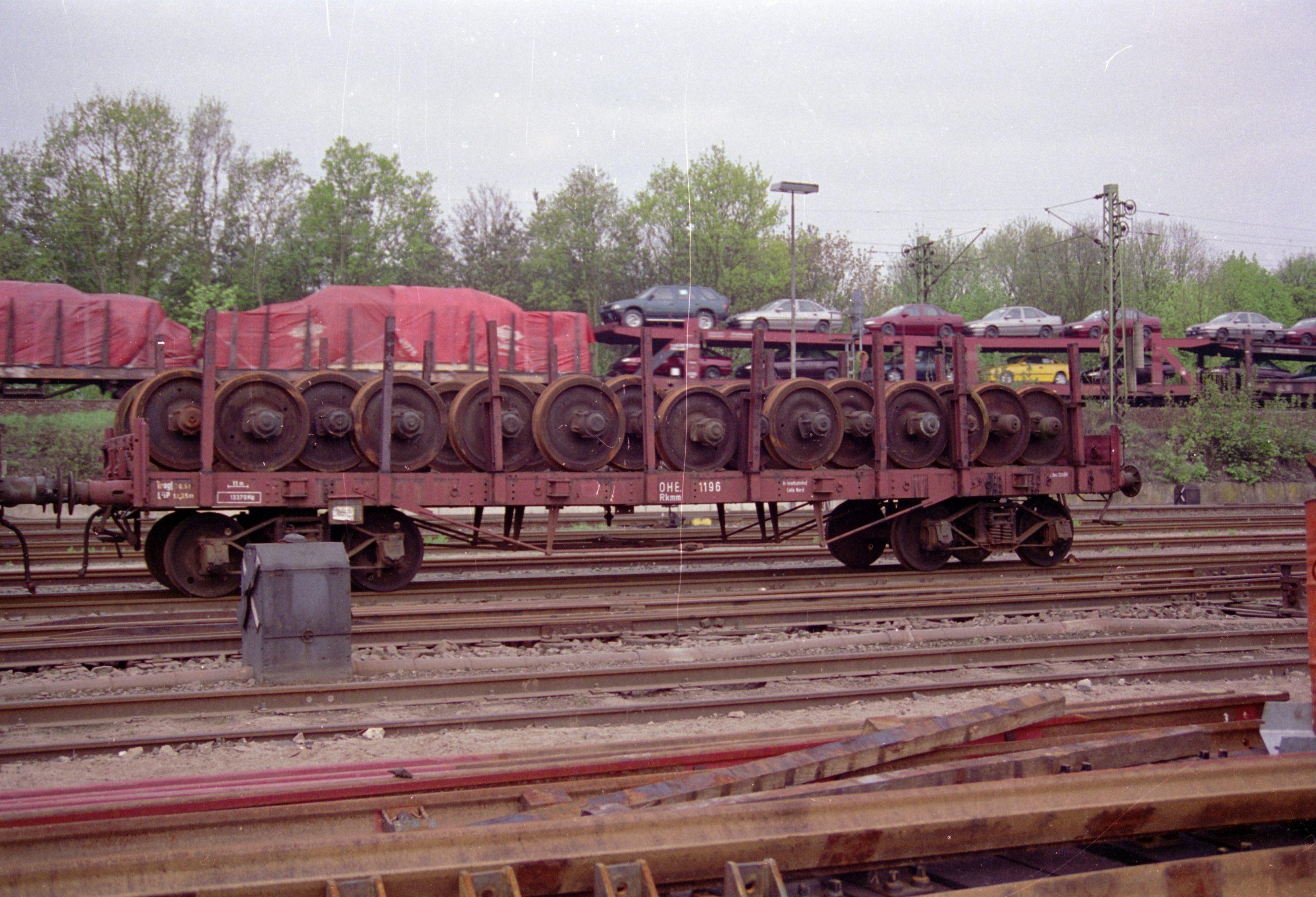 Güterwagen 1196