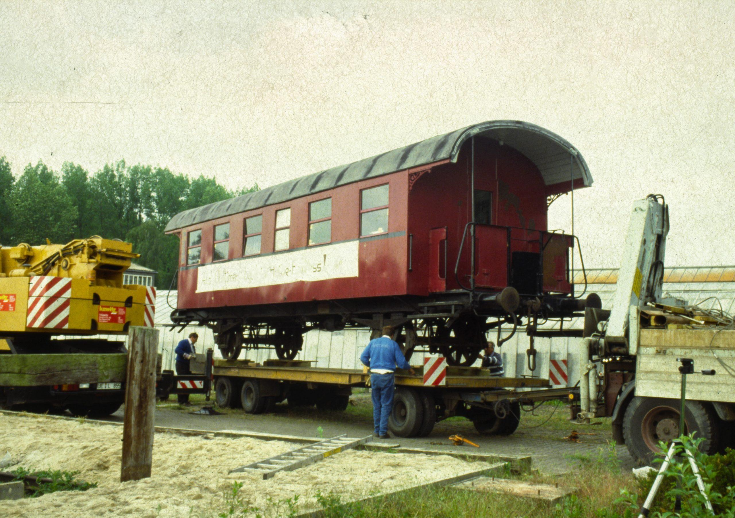 Triebwagenanhänger TA 0335